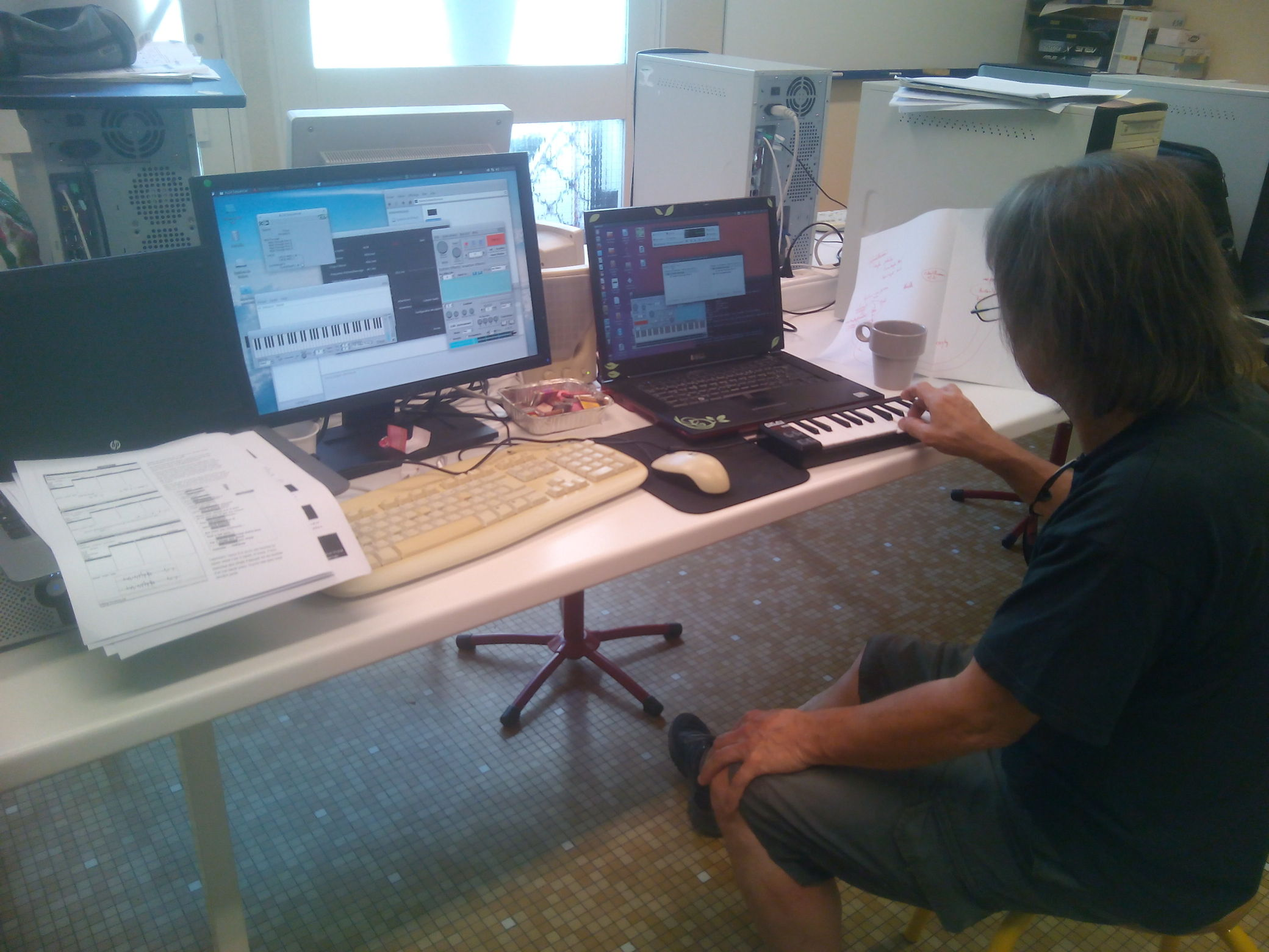 Intégration d'un clavier midi sur Ubuntu