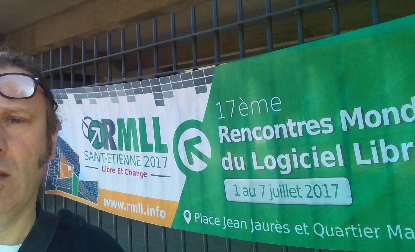 RMLL 2017 à Saint Etienne… nous y sommes!