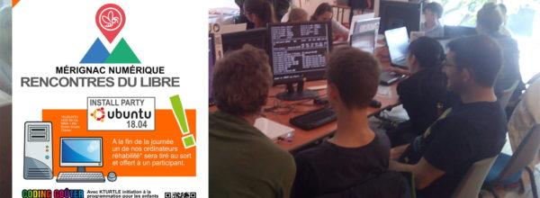 Mérignac numérique : RENCONTRES DU LIBRE, le samedi 6 avril 2019