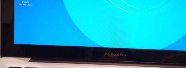 Installation Xubuntu sur Mac BOOK OS 11