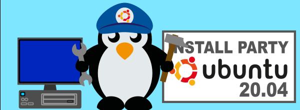 Install-Party Ubuntu/Debian samedi 23 octobre 2021